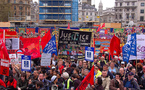 Recession fires worldwide May Day rallies