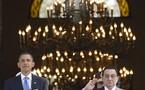 In US, Egypt leader puts onus on Israel