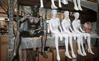 Mannequins hit by discrimination -- and loss of face