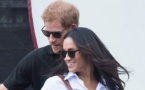 Diana's diamonds on Meghan's ring means she is 'with us,' Harry says