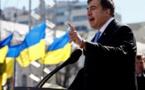 Ousted from Ukraine, Georgian ex-leader Saakashvili now in Amsterdam