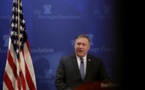 US vows 'unprecedented financial pressure' on Iran
