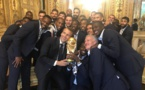Cheering crowds, smoke and red carpets greet French World Cup heroes