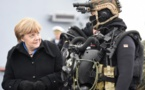 Merkel, Putin discuss peace deal for Syria's last rebel stronghold