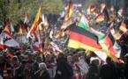 Counter-demonstrators block march in German city over gang-rape case