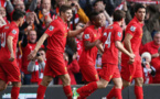 Liverpool in charge heading into second half of Premier League
