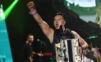 Austrian folk singer professes 'tolerance' as he accepts music award