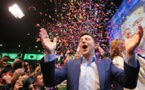 Ukrainian comedian Zelensky wins presidential election in landslide