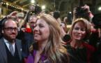Slovakia's first female president, Zuzana Caputova, takes office