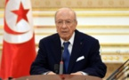 Tunisian President Essebsi, 92, hospitalized after severe illness