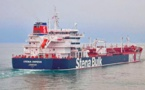 British-flagged oil tanker seized by Iran arrives at port