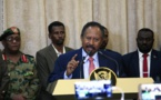 Sudan's new prime minister visits Egypt in bid to boost ties