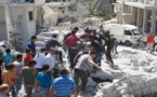 At least 10 killed in airstrikes in north-west Syria