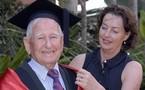 Aussie, 97, becomes 'world's oldest graduate'