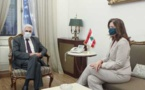 Lebanese foreign minister meets US ambassador after Hezbollah remarks