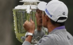Collin Morikawa drives into the history books with PGA win