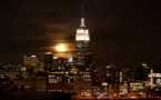 New York's Empire State lights up for Nigeria missing girls