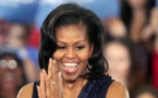 Michelle Obama arrives in Qatar for education trip